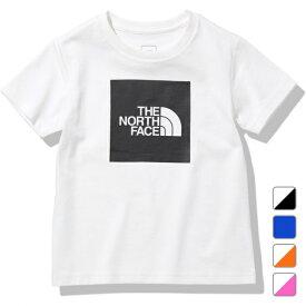 2021春夏 ノースフェイス ジュニア キッズ 子供 半袖Tシャツ S/S Colored Big Logo Tee S/Sカラードビッグロゴティー NTJ82023 THE NORTH FACE