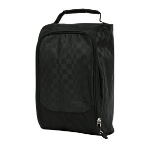 【10/23〜25】買えば買うほど★ 最大10%OFFクーポン ミズノ 20 Shoes case (5LJS200100) メンズ ゴルフ シューズケース : ブラック MIZUNO