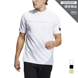 アディダス ゴルフウェア ADICROSS チェストラインド 半袖モックネックシャツ ゴルフ5限定 (26007) リサイクルポリエステル メンズ adidas