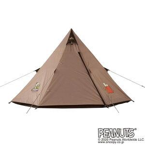 ロゴス SNOOPY Tepeeテント 86001083 キャンプ ドームテント LOGOS