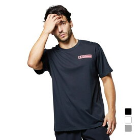 【10/18】買えば買うほど★最大10%OFFクーポン アンダーアーマー メンズ 半袖Tシャツ UA Heavy weight Charged Cotton Graphic Tee 1365069 スポーツウェア UNDER ARMOUR 0529T 21clearance