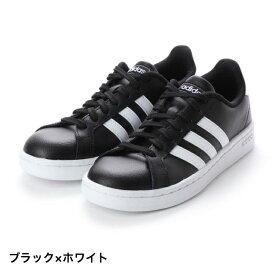 アディダス GRANDCOURTLEAU (F36393) メンズ レディース スニーカー : ブラック×ホワイト adidas 191011shoes dealshoes