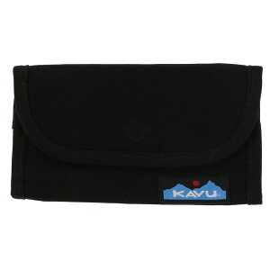 【7/30〜8/2】 買えば買うほど★ 最大10%OFFクーポン カブー Big Spender 1186396500 レジャー用品 小物 長財布 : Black KAVU