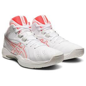 アシックス GELHOOP V13 ゲルフープ 1063A035 メンズ レディース バスケットボール シューズ バッシュ 2E : ホワイト×オレンジ asics