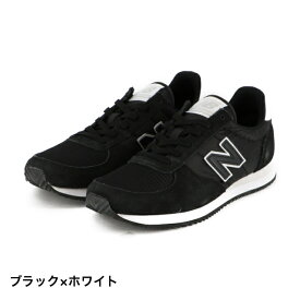 ニューバランス U220 (U220D FI) メンズ スニーカー : ブラック×ホワイト New Balance