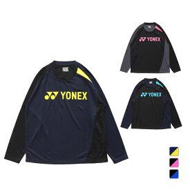 ヨネックス メンズ レディース テニス 長袖Tシャツ ユニロングスリーブTシャツ RWAP2105 YONEX 211020TSFW 211020BDFW