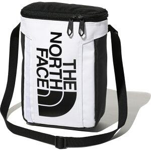 【10/15〜10/16はエントリーでP5倍!】 ノースフェイス BCヒューズボックスポーチ ホワイト×ブラック NM82152 WK トレッキング バッグ ショルダーポーチ THE NORTH FACE