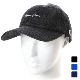 チャンピオン キャップ デニムローキャップ (381-0136) 帽子 Champion UV対策 熱中症 暑さ対策