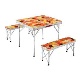 コールマン ナチュラルモザイクファミリーリビングセットミニプラス (2000026758) キャンプ テーブル Coleman