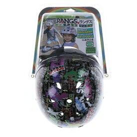 ラングスジャパン ヘルメット ジュニア(キッズ・子供) エクストリームスポーツ プロテクターセット : ブラック rangsjapan