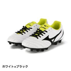 ミズノ モナルシーダ NEO SELECT JR (P1GB192509) ジュニア(キッズ・子供) サッカー スパイクシューズ : ホワイト×ブラック MIZUNO