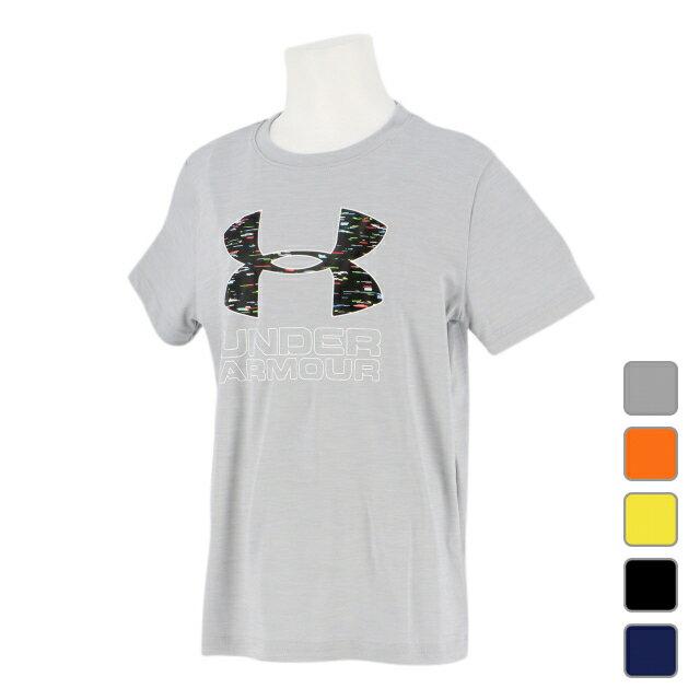 アンダーアーマー ジュニア(キッズ・子供) 半袖機能Tシャツ UA Print Fill Logo Tee (1329819) UNDER ARMOUR