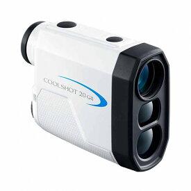 ニコン クールショット 20 G2 COOLSHOT 20 GII レーザー 距離測定器 ホワイト 最軽量 ゴルフ 距離計 Nikon