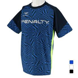 ペナルティ メンズ サッカー/フットサル 半袖シャツ プラトップ半袖 (PU984AP) PENALTY