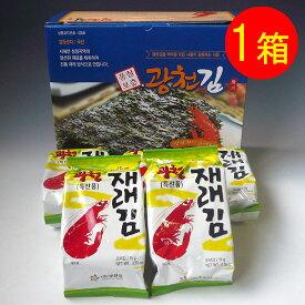 激ウマの韓国海苔!!ハッキリ言って違います!食べ過ぎ注意!「究極の韓国海苔1箱(12袋入り)」
