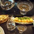 -AMANO-螺鈿ガラス「徳利・杯セット金桜(黒・朱)」