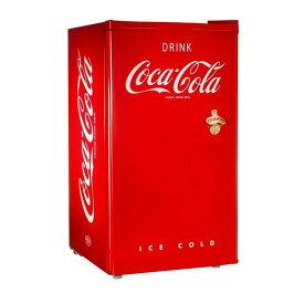 コカ・コーラ ノスタルジア レトロ 冷凍冷蔵庫 栓抜き付 西海岸 カリフォルニア Nostalgia RRF300SDBCOKE Coca-Cola Compact Refrigerator 家電【代引不可】