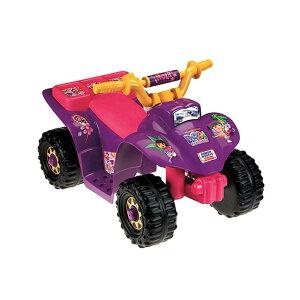 フィッシャープライス ドラリル・クワッド 電動自動車 6Vバッテリー付 対象年齢1〜3才 電気自動車 電動カー Fisher-Price Power Wheels 10th Anniversary Dora Lil' Quad 6-Volt Battery-Powered Ride-On