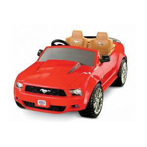 【組立要】フィッシャープライス パワーホイール レッドフォード マスタング 電動自動車 12Vバッテリー付 電気自動車 電動カー Kid MoFisher-Price Power Wheels Red Ford Mustang 12-Volt Battery-Powered Ride-On