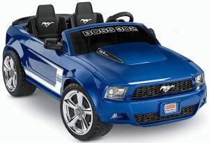 【組立要】フィッシャープライス ボーイズ ボスマスタング 電動自動車 12Vバッテリー付 電気自動車 電動カー Fisher-Price Power Wheels Boys' Boss Mustang 12-Volt Battery-Powered Ride-On