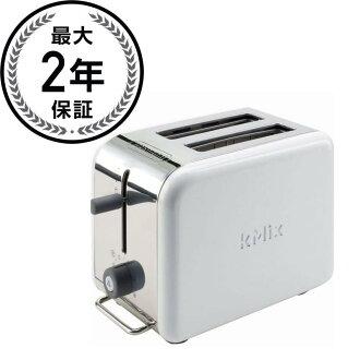 デロンギトースター two pieces ware white DeLonghi Kmix 2-Slice Toaster White DTT02WH