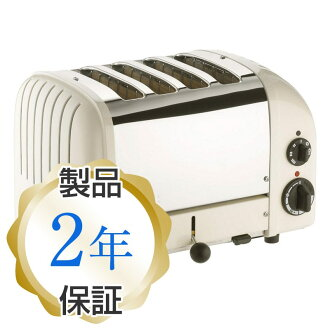 デュアリット four pieces ware classical music toaster canvas white Dualit 4 Slice Classic Toaster, Canvas White
