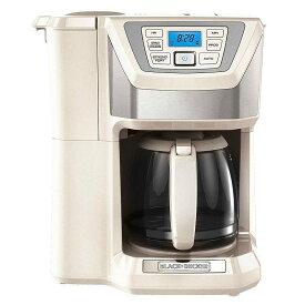 ブラック・アンド・デッカー コーヒーメーカー 豆挽き付 12カップ BLACK+DECKER CM5000WD 12-Cup Mill and Brew Coffeemaker 家電