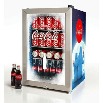 Nostalgia Coca-Cola nostalgic refrigerator 68L 80 cans Nostalgia BC24COKE Coca-Cola 80-Can Commercial Beverage Cooler