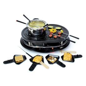 グルメット ホットプレート オランダ ラクレットグリル フォンデュセット 石焼 オイルフォンデュ Total Chef Raclette Grill w Fondue 家電