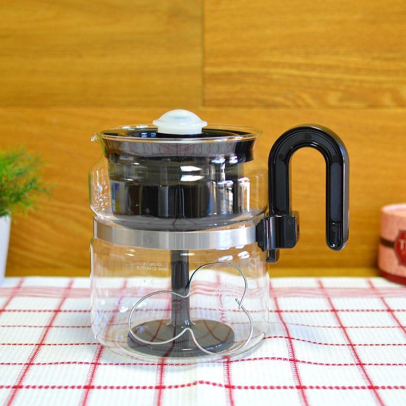 直火OK メデルコ ガラス パーコレーター コーヒーメーカー Medelco 8 Cup Glass Stovetop Percolator