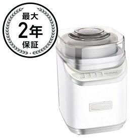 クイジナート 電動アイスクリームメーカー Cuisinart ICE-60W Cool Creations Ice Cream Maker 家電【日本語説明書付】