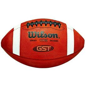 アメフト フットボール アメリカ製 革 Wilson GST NCAA Leather Game Football