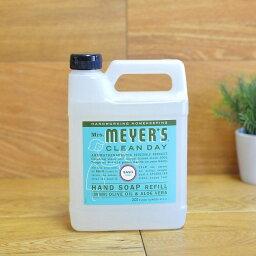 夫人邁耶斯手肥皂肥皂975ml羅勒葉Mrs. Meyers Liquid Hand Soap Refill, Basil Scent