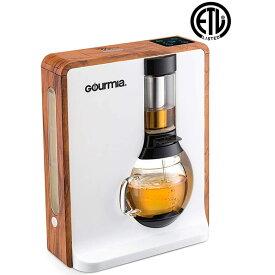 コーヒーメーカー おしゃれ ティーメーカー 電動 ブリュワー 醸造 紅茶 Gourmia GTC8000W Electric Square Coffee & Tea Maker 家電
