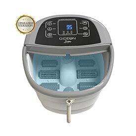 フットバス 温度調節 ジェット ローラー Gideon Luxury Foot Spa Bath Massager with Heat 家電