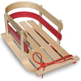 ソリ 木製 アウトドア Flexible Flyer Baby Pull Sled. Wood Toddler To-Boggan. Wooden Sleigh for Kids