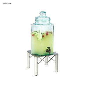 ドリンクサーバー ガラスドリンクディスペンサー 7.5L メタルスタンド付 レストラン カフェ ホテル Cal-Mil 3421-2 2 Gallon Industrial Glass Beverage Dispenser 21134212