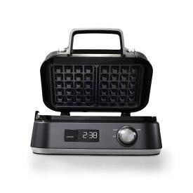 カルファロン ワッフルメーカー スクエア型 2枚焼 セラミックプレート Calphalon IntelliCrisp Waffle Maker CKCLWF1 家電