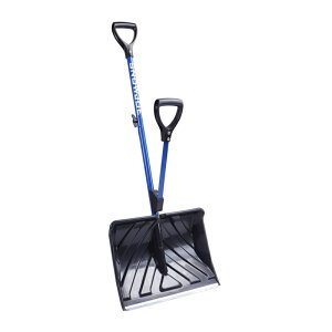 雪かき スコップ ラッセル アルミ 幅46cm 負担軽減 除雪用具 Snow Joe SHOVELUTION SJ-SHLV01 18-IN Strain-Reducing Snow Shovel w/Spring Assisted Handle
