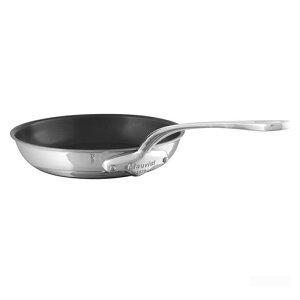 ムヴィエール モービル フライパン 28cm ステンレス 5層 IH対応ノンスティック 焦げ防止加工 ムビエル モビエル モヴィエル フランス Mauviel 1830 5242.28 M'cook Round frying pan (non stick interior)