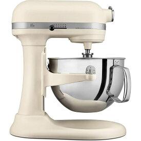 キッチンエイド スタンドミキサー プロフェッショナル 600 5.8L マットフレッシュリネン クリーム KitchenAid KP26M1XFL Professional 600 Series 6-Quart Stand Mixer Matte Fresh Linen 【日本語説明書付】 家電