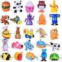 動くおもちゃ 25種セット ぜんまい式 動物 乗り物 フィギュア 人形 Wind up Toys 25 pcs Assorted Toy Animal for Chi…