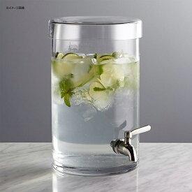 ドリンクサーバー ガラス ディスペンサー ステンレス蛇口 5.6L レストラン カフェ ホテルCold Drink Dispenser Crate and Barrel