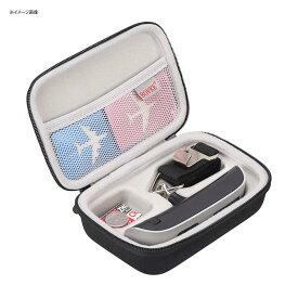 ラゲッジスケール ケース付 はかり 旅行 海外 スーツケース BOVKE Travel Case for Digital Hanging Luggage Scale - Includes Mesh Pocket for Accessories, Black