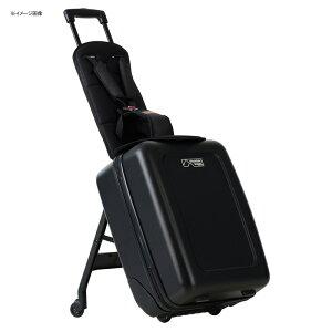 子供が乗れる スーツケース ベルト付クッション ブラック 家族旅行 Mountain Buggy Bagrider