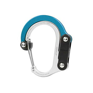 フック付きカラビナ ヒーロークリップミニ バッグハンガー ベビーカーにも HEROCLIP Versatile Clip(Mini) Non-Locking Carabiner   Hang Anything, Anywhere