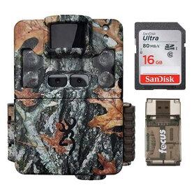 トレイルカメラ メモリーカード カードリーダー付 自動撮影カメラ センサーカメラ 野生動物カメラ 夜間撮影 静止画 動画 フルHD Browning Strike Force Pro XD 24MP Trail Camera with Memory Cards and Focus Camera Card Readers   BTC5PXD 家電