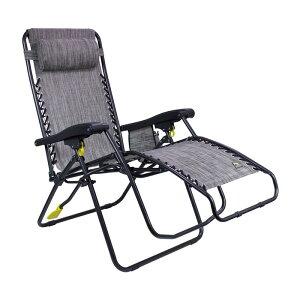 折りたたみ ラウンジチェア サイドポケット付 リクライニング ヘッドレスト 無重力 アウトドア キャンプ フェス ビーチ GCI Outdoor Freeform Zero Gravity Lounger Chair