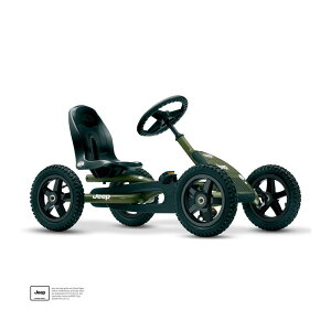 乗用玩具 ジープ ジュニア ペダルゴーカート 50kgまで 乗り物 車 BERG Jeep Junior Pedal Go-Kart 24213401