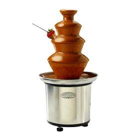 チョコレートファウンテン タワー ノスタルジア 3段 ステンレス チョコレートフォンデュ Nostalgia CFF-986 Chocolate Fountain 家電